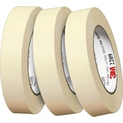 Scotch® #2209 Paper Masking Tape, 1/2x60 yds., 72/Case
