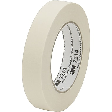 Scotch® #2214 Masking Tape, 3in.x60 yds., 12/Case