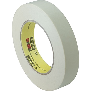 Scotch® #234 General Purpose Masking Tape, 1/2in. x 60 yds., 72/Case