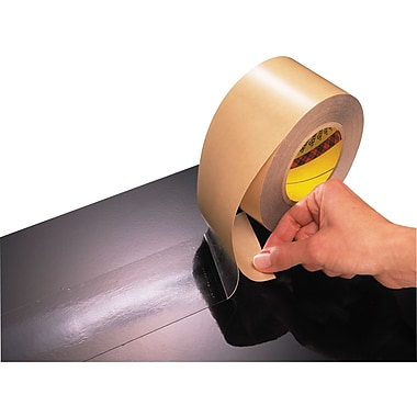 Scotch® #465 General Adhesive Transfer Tape Hand Dispensed Roll, 1/2in.x60 yds., 12/Case