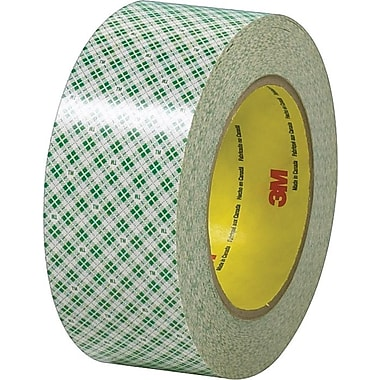 Scotch® #410 Double Sided Masking Tape, 2in.x36 yds., 24 Rolls/Case