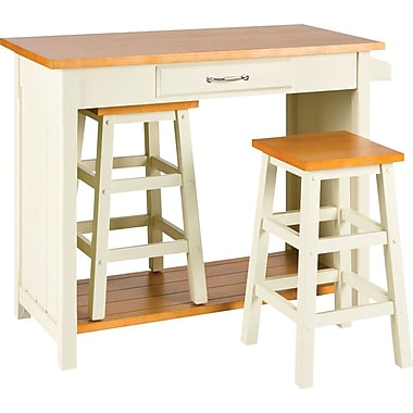 SEI 3 Piece Nantucket Break Room Set