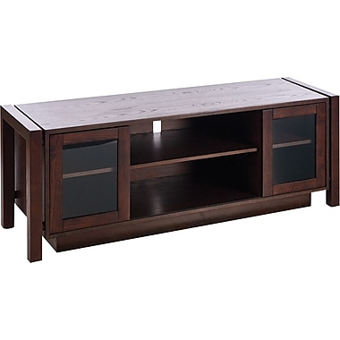 SEI Espresso Flat Panel TV Stand