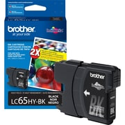 Brother Ink Cartridge, High Yield, Black (LC65HYBKS)