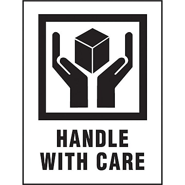 Handle with Care Label, 3in. x 4in.