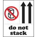Pictorial Labels - Do Not Stack, 3in. x 4in.
