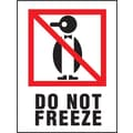 Do Not Freeze Label, 3in. x 4in.
