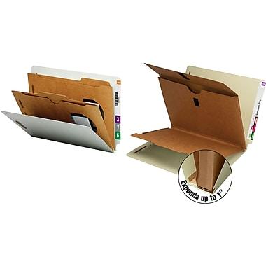 Smead® Pocket-Style End-Tab Classification Folders