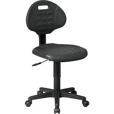 Office Star™ KH520 Black Armless Self-Skinned Urethane Task Chair