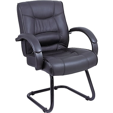 Alera® Strada Series Leather Guest Chair