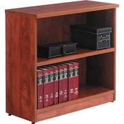 Alera Valencia 32'' 2-Shelf Bookcase, Medium Cherry (VA633032MC)