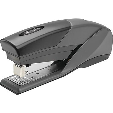 Swingline EZ Touch Reduced Effort Half Strip Stapler, 20 Sheet Capacity, Black