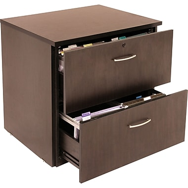 Regency Sandia Lateral File, Mocha Walnut