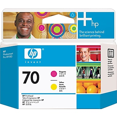 HP 70 Magenta and Yellow Printheads (C9406A)