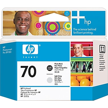 HP 70 Photo Black and Light Gray Printheads (C9407A)