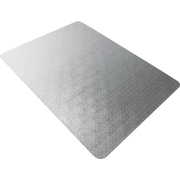Floortex® Polycarbonate Chair Mat for Low- to Med-Pile Carpets, Rectangular, 47 x 35