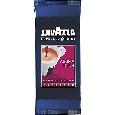 Lavazza® Espresso Point Cartridges, Aroma Club 100% Arabica Blend Espresso, Regular, .25 oz, 100 Cartridges