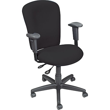 Staples® Ergonomic Operator Chair, Black