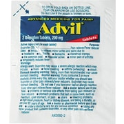 Advil Pain Relief Coated Tablets, 200 mg, Single-Dose Refill Packs, 30 Packets/Box (LIL58030)