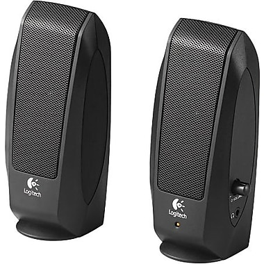 Logitech S-120 Multimedia Speakers with Stereo Sound for Multiple Devices, Black (LOG980000012)