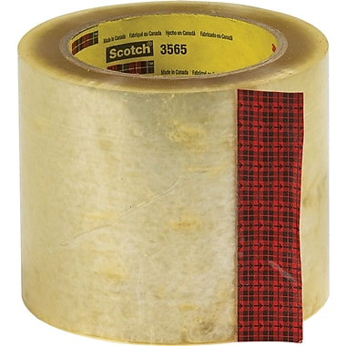Scotch® Highland #3565 Label Protection Tape, 4in.x110 yds., 18/Case
