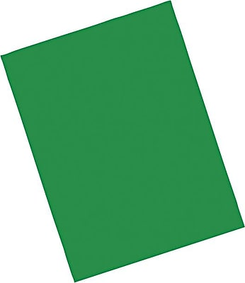 Pacon Riverside Paper Construction Paper 9 x 12 Holiday Green 103577