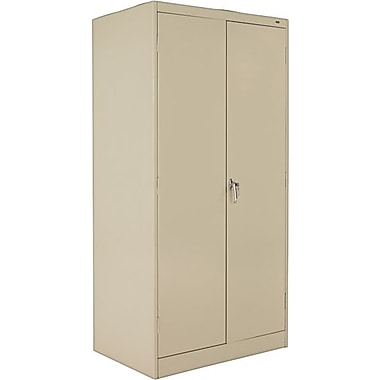 Tennsco Standard Storage Cabinet, 72in.H x 36in.W x 24in.D, Putty