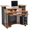 Staples® Eclipse Workstation, Cherry