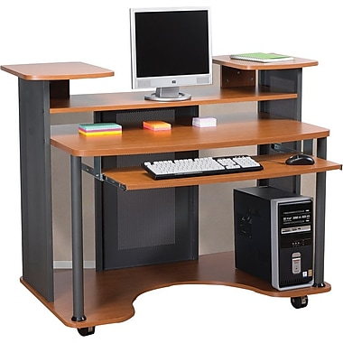 Staples Eclipse Workstation Cherry