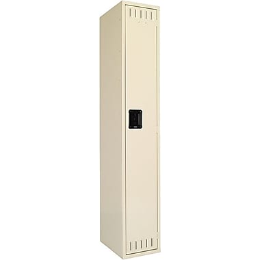 Tennsco Single Tier Individual Storage Locker, Sand