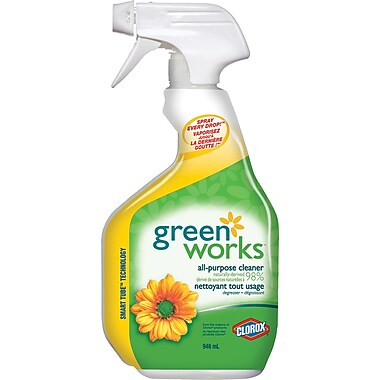 Clorox - Nettoyant multiusages Green Works, 946 ml