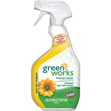 Clorox Green Works Bathroom Cleaner, 709 mL