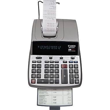 Canon MP25DV Printing Calculator