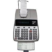 Canon MP25DV 12-Digit Display Desktop Printing Calculator (Black)
