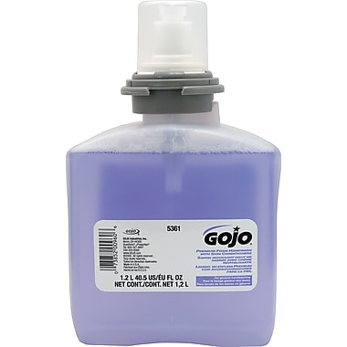 GOJO® Foam Hand Wash With Skin Conditioners Refill, 1.2L