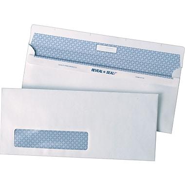 Quality Park Envelopes White Window #10, 4-1/8