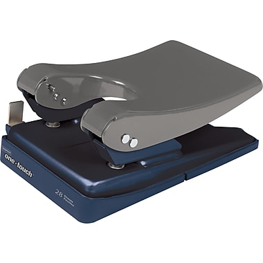 Staples® One-Touch 2-Hole Punch, 28 Sheet Capacity