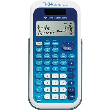 Texas Instruments® TI-34 MultiView™ Scientific Calculator