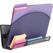 Safco Onyx™ Magic Magnetic File Pocket With Organizer