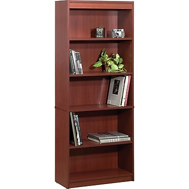 Bestar Commercial Bookcase, 5-Shelf, Bordeaux