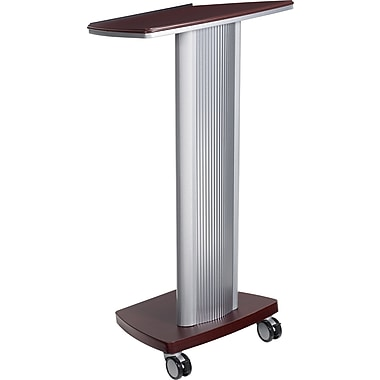 Global® Bungee Lectern, Tiger Mahogany