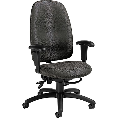 Staples® Ergonomic High-Back Multi-Tilt Chair, Carbon