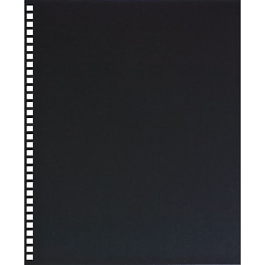 GBC ProClick Binding Presentation Covers, Letter, 25 Pack, Black