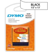 DYMO LetraTag 3/Pk Variety White labels