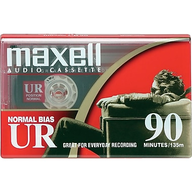 76012 - Maxwell 90 Minute Dictation & Audio Cassette Normal Bias (45 x 2)