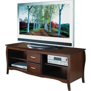 OSP Designs™ 60 Flat Screen TV Stand, Walnut