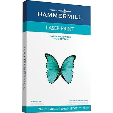 HammerMill® Laser Print Paper, 11in. x 17in., Ream