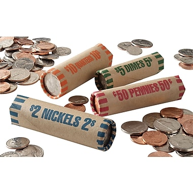 MMF Industries™Tubular Coin Wrapper, Dimes