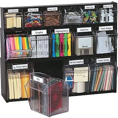 tilt bin multipurpose storage and organization system staples
