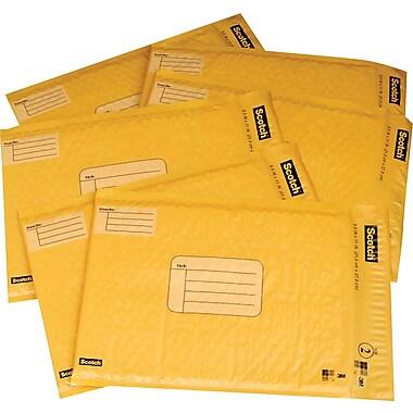 Scotch™ - Enveloppes rembourrées en poly pour l'expédition, bande autoadhésive
